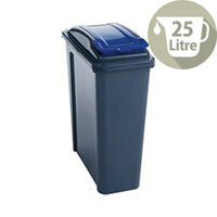 Vfm Recycling Waste Bin 25L Blue