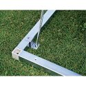 VFM Metallic Silver Equipment Locker Floor Frame 315885