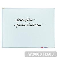 Franken Whiteboard ValueLine 900x600mm Non-Magnetic SC3002