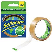 Sellotape Zero Plastic 24mm x 30m 2635499