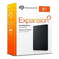 Seagate Expansion Portable Hard Drive - USB 3.0 - 2TB (2000GB) - 2.5in External Storage STEA2000400
