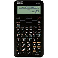 Sharp EL-W5531 Scientific Calculator Black EL-W531TL BBK