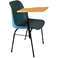 Student Chair Lecture Arm Tablet (Right Hand) SIEOL - Blue #SSC