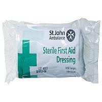 St John Ambulance Large Dressing 180 x 180mm (Pack of 1) F90107