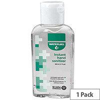 St John Ambulance Water Jel Hand Sanitiser 60ml Pack 1