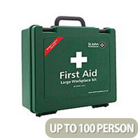 St John Ambulance Workplace First Aid Large 100 Person (Pack of 1) F30609