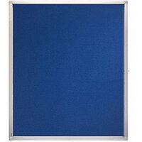 Franken Display Case ECO Outdoor Felt Blue 15 x A4 SK15PTE03