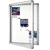 Franken Display Case ECO Outdoor Magnetic Whiteboard 15 x A4 SK15SE