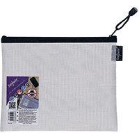 Snopake Eva Mesh Zippa Bag A5 Pack of 3 15838