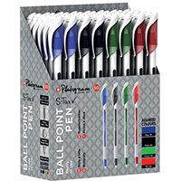 Platignum S-Tixx Ballpoint Pen Assorted 50 Pack 50516