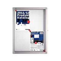 Franken Display Case ECO Outdoor Magnetic Whiteboard 4 x A4 SK4SE
