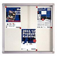 Franken Display Case PRO Magnetic Whiteboard 6 x A4 SK6106