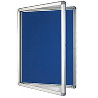 Franken Display Case ECO Outdoor Felt Blue 9 x A4 SK9PTE03