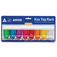Kevron Standard Key Tags Assorted Pack of 8 ID6TRL