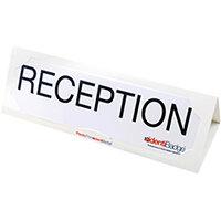 Identibadge Plastic Free Name Place Holder Pack of 10 IB50492
