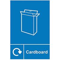 Spectrum Industrial Recycle Sign Cardboard 150x200mm SAV 18144