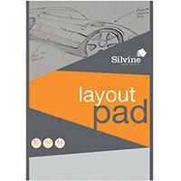 Silvine Layout Pad 80 Sheets A4 A4LP