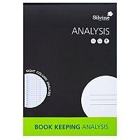 Silvine A4 Analysis Pad 7 Column Pack of 6 SJA4A