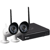 Swann 4 Channel 2 Camera 1080p Wi-Fi kit SWNVK-485KH2-UK