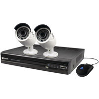 Swann 4 channel 2 camera 1TB NVR CCTV Kit SWNVK-474002-UK