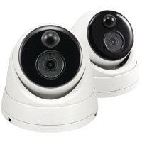Swann Dome Thermal CCTV Cameras PK2 SWPRO-3MPMSDPK2-UK Pack of 2