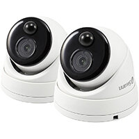 Swann Thermal Sensor Outdoor Dome Security Cameras Pack of 2 SWPRO-1080MSDPK2-UK