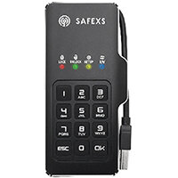 SafeXS Firebolt Portable SSD with Keypad Encryption 30GB SXSFB-30GB