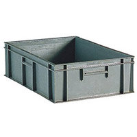 Containers Plastic -Stacking External Lxwxh 800X600X319mm Solid
