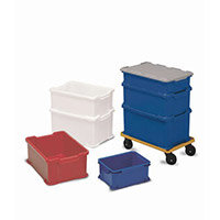 Container Universal Stacking 40 Litre White