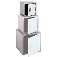 """Locker 12"""" Sq Cube-2 Tone Grey 305x305x305-Plain"""
