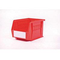 Bin-Storage Linbin Red Pack Of 10 Lxwxhmm:210X140X130