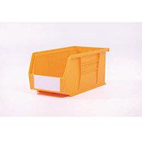 Bin-Storage Linbin Yellow Pack Of 10 Lxwxhmm:280X140X130