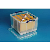 Really Useful Box 35 Litre Capacity Transparent Container