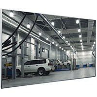 Mirror Flat Industrial 500x1000