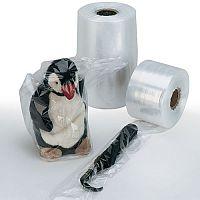 Layflat Polythene Tubing Bags 120 Gauge Strength W152mm 700m Roll Clear