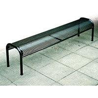 Bench Metal Free-Standing Black L:1500mm