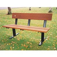 Seat  Wood Bramley Pedestal L:1200mm W:525mm