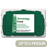 Evolution First Aid Kit - Truck Kit With Cab Bracket Up to 5 Person