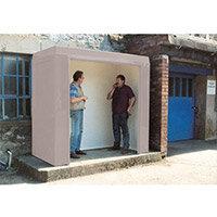 Waiting Shelter -No Windows Grey L:2400 W:2400 H:2300mm
