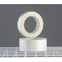Tape  Reinforced Clear W:50mmxWeave 18 Rolls Ctn