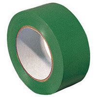 Tape  Lane Marking 1 Roll Of Green 50mm Widex33M Long
