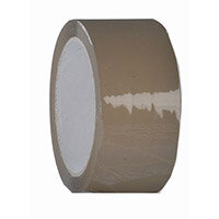 Tape  Polypropylene Brown Roll W:48mm Carton Of 6