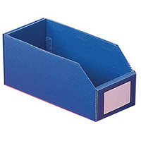 Twin Walled Small Part Storage Polypropylene Bins HxWxL 100x75x150mm Blue Pack of 50