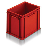 5 L Euro Stacking Container Red