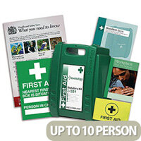 First Aid Starter Kit Up to 10 Person