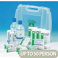 Eye Wash First Aid Kit With 2 X 500ml