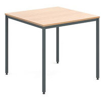 Table  General Purpose Square Square Beech 800X800X725mm