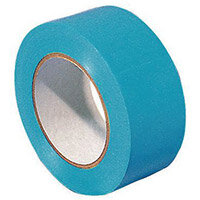 Tape  Lane Marking 6 Rolls Of Blue 50mm Widex33M Long