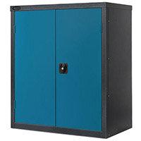 Black Carcass Cupboard Low Colour Blue