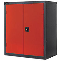Black Carcass Cupboard Low Colour Red